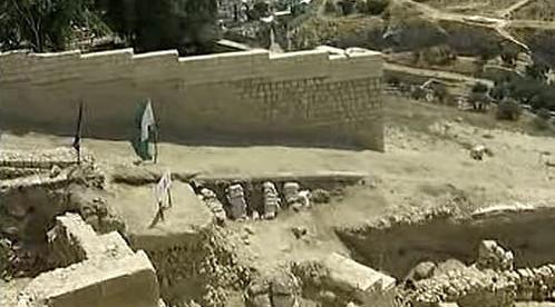 Hradby z biblických dob v Jeruzalémě