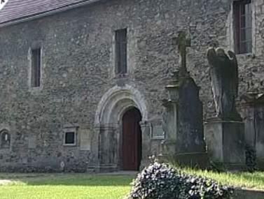 Historický kostel v Ostrově