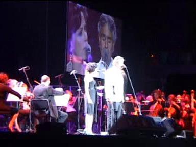 Koncert Andrea Bocelliho a Českého národního symfonického orchestru