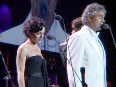 Andrea Bocelli a Tina Arena