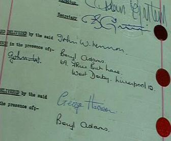 Podpisy na smlouvě