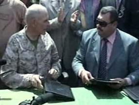 Oficiální předání irácké provincie Anbár