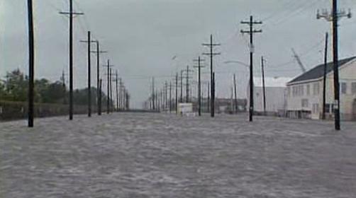 Následky hurikánu