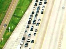 Lidé prchají před hurikánem Gustav z New Orleans