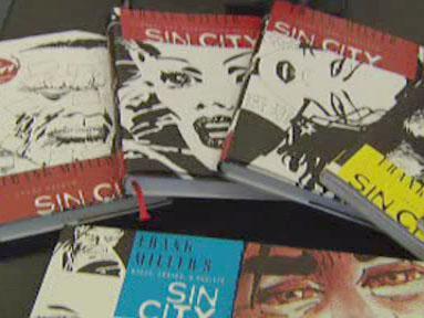 Knižní vydání komiksu Sin City