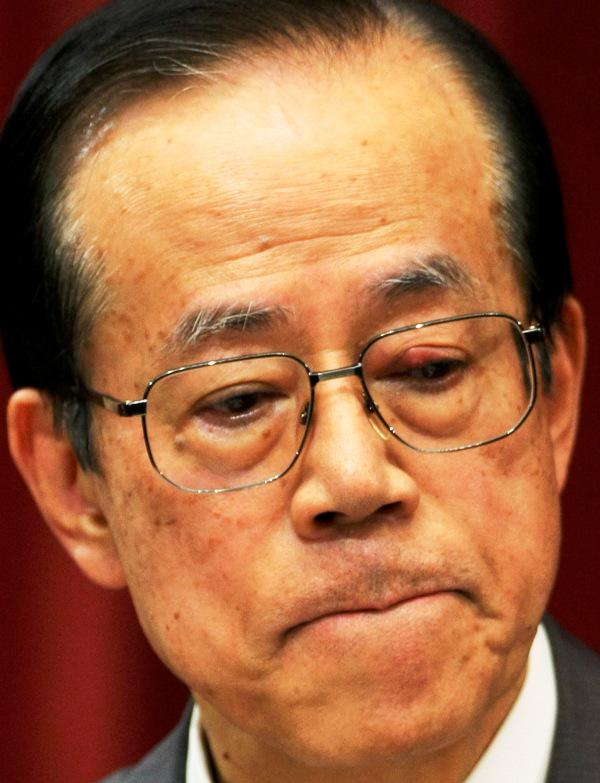 Japonský premiér Jasuo Fukuda