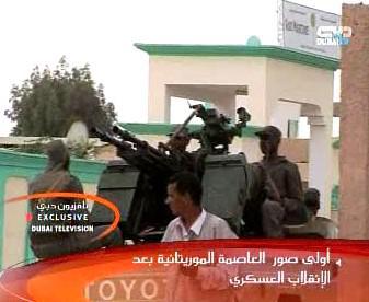 Mauritánští vojáci