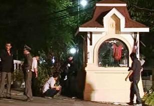 U policejní budky v Thajsku vybuchla bomba