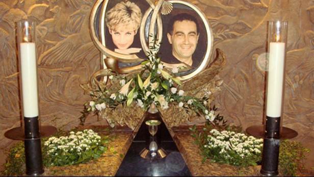 Památník k výročí smrti Lady Diany