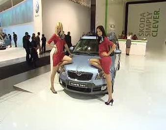Moskevský autosalón