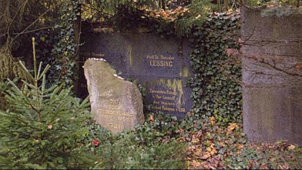 Theodor Lessing - hrob