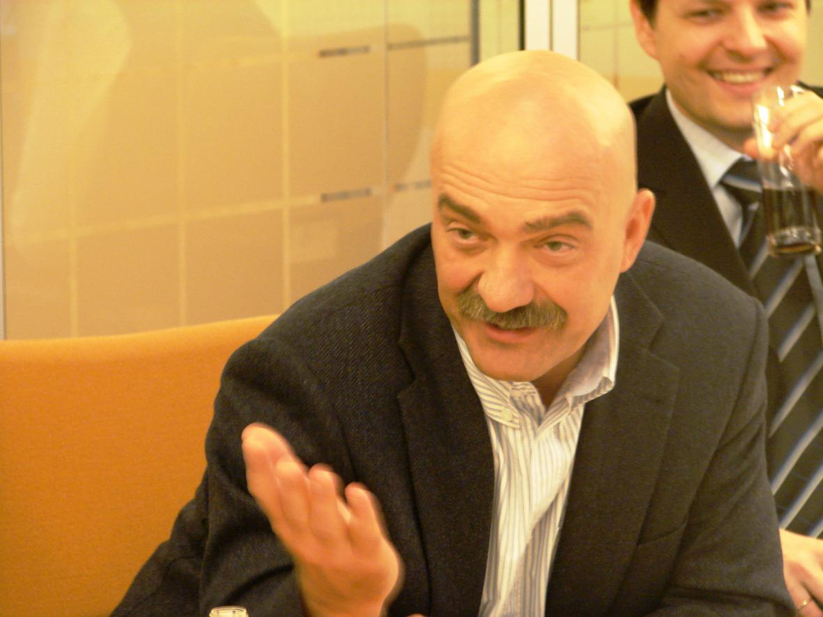 Podnikatel roku 2007 - Tomáš Březina
