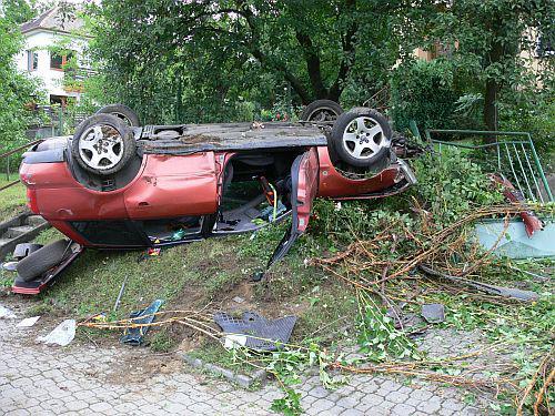Vážná dopravní nehoda