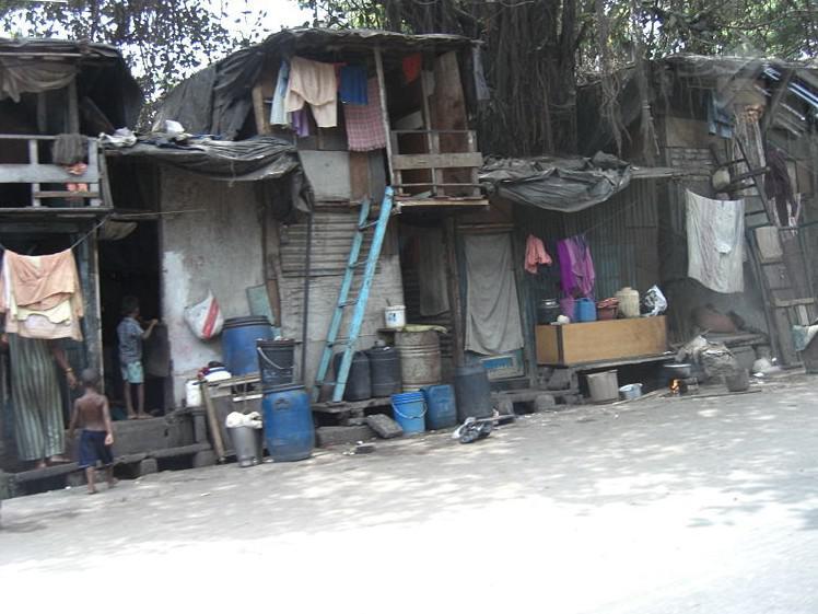 Slumy v Mumbaji