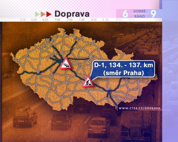 Dopravní situace ve čtvrtek 28. 8. 2008