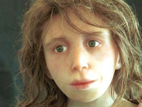 Rekonstrukce podoby neandertálského dítěte