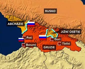 Ruská armáda na gruzínském území