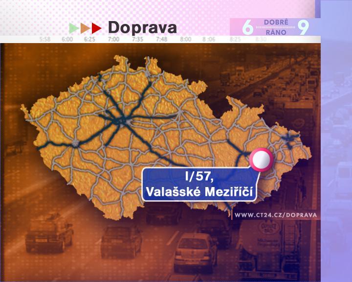 Dopravní nehoda ve Valašském Meziříčí