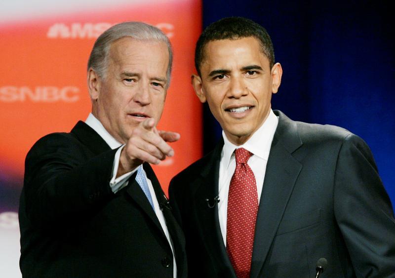 Barack Obama a Joseph Biden