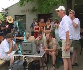 Natáčení filmu Muži v říji