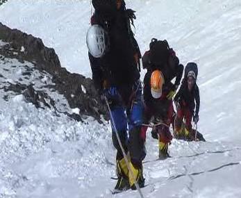 Čeští horolezci