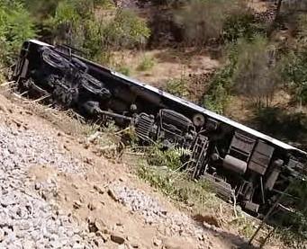 V Portugalsku vykolejil vlak