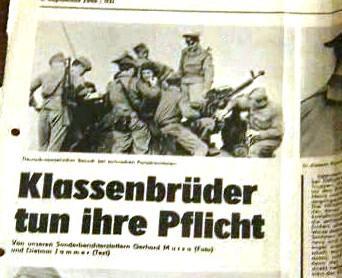 Srpen 1968 ve východoněmeckém tisku