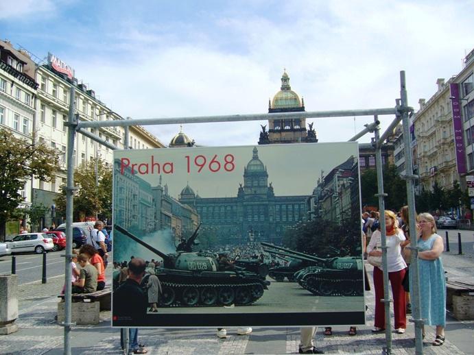 Václavské náměstí vzpomíná...