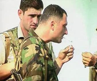 Abcházský voják