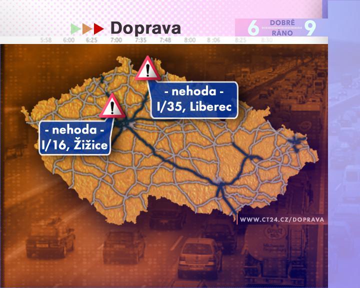 Dopravní situace ve středu 20. 8. 2008