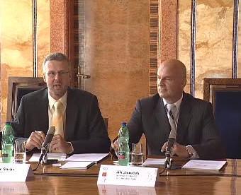 Jiří Janeček a Ladislav Šticha