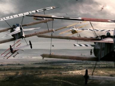 Záběry z filmu Rudý baron