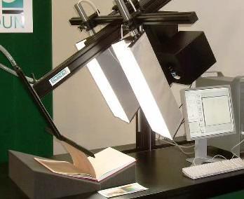 Zařízení na digitalizaci knih