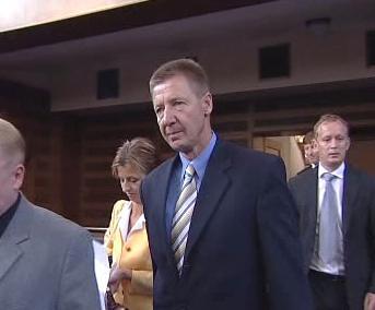 Miroslav Hálek u hradeckého soudu