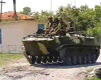 Vojáci v Abcházii