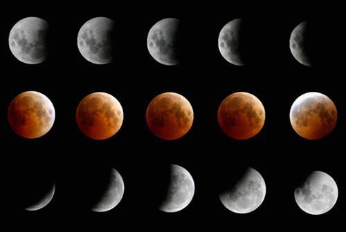 Fáze zatmění Měsíce
