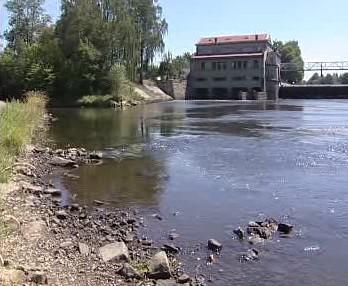 Vyschlá řeka Lužnice