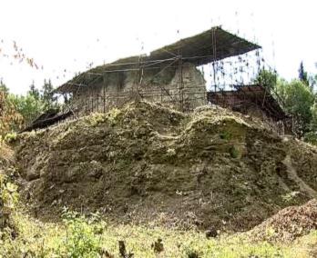 Současný stav hradu Vízmburk