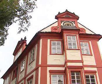 Opravený dům v ulici Nový Svět