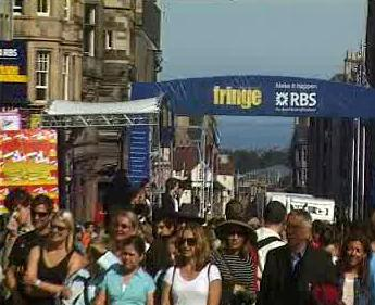 Fringe Festival v Edinburghu