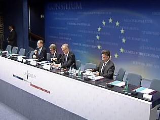Brífink EU k situaci v Gruzii