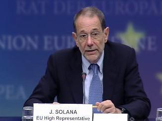 Javier Solana: <i>\