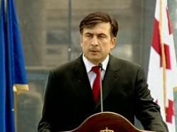 """Michail Saakašvili: \""""Jsme uprostřed okupace.\"""""""