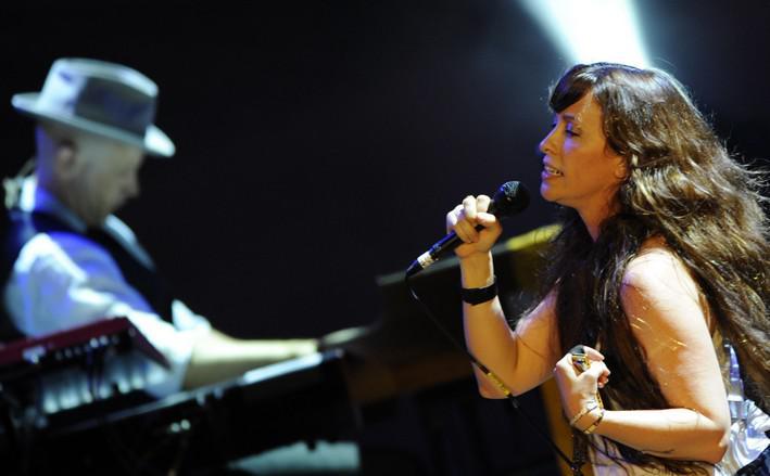 Kanadská zpěvačka Alanis Morissetteová