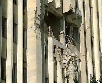 Bombardování v Jižní Osetii