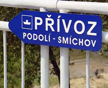 Přívoz na Vltavě