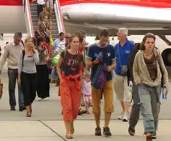 Cizinci z Gruzie přiletěli do Polska