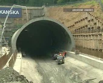Výstavba Komořanského tunelu