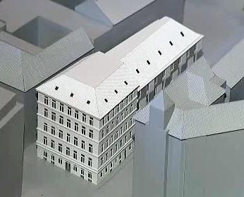 Projekt pro dům v Petrské ulici