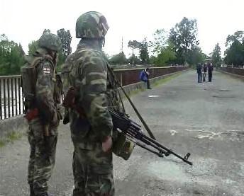 Gruzínští vojáci